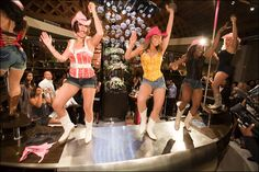 Coyote Ugly Performance for our Pink Carpet Party