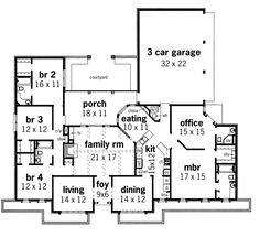 House Plans < Mother in law suite house Ranch style