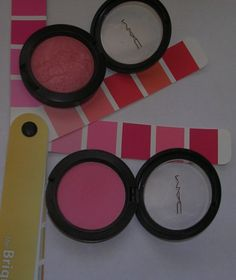 2 great MAC blushes for the Bright Spring #Color Space #inventyourimage.com