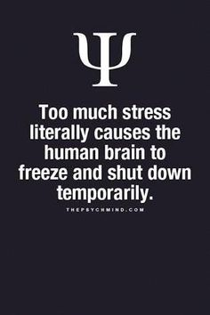 ) I can say this, it does eventually fade away, but takes time without more stress.If more stress comes your way then this problem will expand. Psychology Says, Psychology Fun Facts, Psychology Quotes, Psychology Careers, Educational Psychology, Health Psychology, Educational Leadership, Educational Technology, Great Quotes
