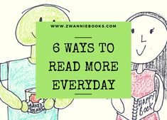 Have more fun reading as you go about your daily routine and encourage your kids to read at every opportunity, even if that means reading the road signs or junk-mail! Read More, More Fun, Everyday Happy, Learn To Read, Childrens Books, Encouragement, Learning, Blog, Children's Books