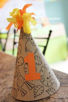 Jungle Themed 1st Birthday Party - Kara's Party Ideas - The Place for All Things Party