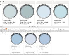 French Blues Por Paint Colors Blue For Home House