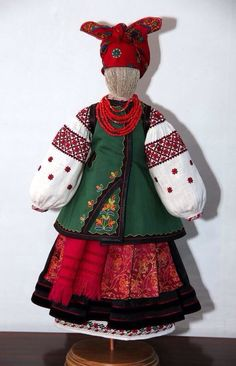 Traditional costume doll