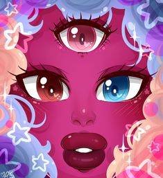 Re-did my older Cotton Candy Garnet picture from back in February. Cotton Candy Garnet Re-do Garnet Fanart, Mode Rococo, Rebecca Sugar Art, My Little Pony Pictures, Universe Art, Cute Chibi, Moon Art, Cotton Candy, Art Drawings