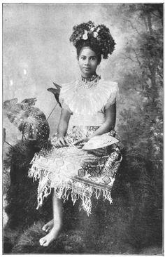 Faaino, Daughter of Malietoa, King of Samoa