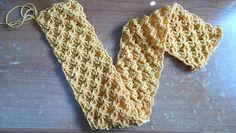15 Fabulous FREE Star Stitch Crochet Patterns: Star Stitch Scarf Free Crochet Pattern by Meladora's Creations