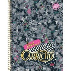 Caderno universitário espiral Capricho Tilibra 96 folhas
