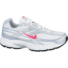 Nike Women s Initiator Running Shoes (White Cherry Metallic Silver Mist  Blue, Size - Women s Running Shoes at Academy Sports 706eba653cb4