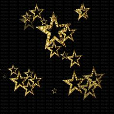 See the sticker gold stars animated black bg animated , bg belonging to on PicMix.