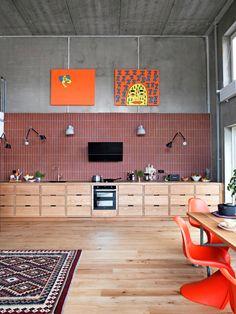 Best Indoor Garden Ideas for 2020 - Modern Interior Exterior, Kitchen Interior, Home Interior Design, Interior Architecture, Interior Decorating, Loft Kitchen, Küchen Design, House Design, Rooms Ideas