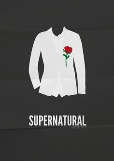 #supernatural season five #minimal #illustration #poster
