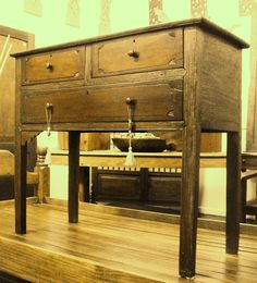 Ilocos-type Mesa Altar (Narra) Ilocos, Altar, Antique Furniture, Entryway Tables, Type, Antiques, Home Decor, Saints, Antiquities