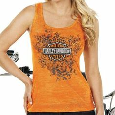 Sexy Harley Davidson Women's Clothing | Amazon.com: Harley-Davidson Womens Distraction Burnout with Studs ...