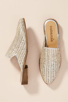 140064650 Cubanas Free Woven Leather Slides. FlatsStyle InspirationNew ShoesHeelsLeatherMinimalist  FashionFreeAnthropologieLoafers. Discover new arrivals in women s ...