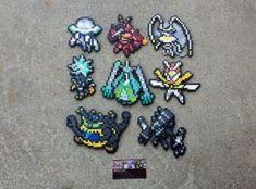 Ultra Beasts - Pokemon Perler Bead Sprites by MaddogsCreations on DeviantArt Solgaleo Pokemon, Pyssla Pokemon, Hama Beads Pokemon, Pokemon Sprites, 3d Perler Bead, Pearler Beads, Fuse Beads, Hama Beads Design, Hama Beads Patterns