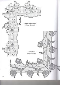 This Pin was discovered by Sha Crochet Boarders, Crochet Doily Patterns, Crochet Designs, Crochet Doilies, Crochet Lace, Crochet Stitches, Filet Crochet Charts, Crochet Diagram, Crochet Curtains