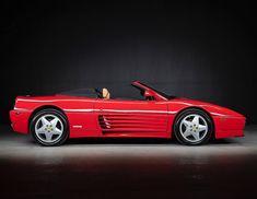 Ferrari 348, Red Heads, Super Cars, Automobile, Bike, Vehicles, Car, Bicycle, Ginger Hair