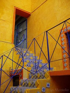 The famous Talavera Pottery factory and shop in Puebla, Mexico.