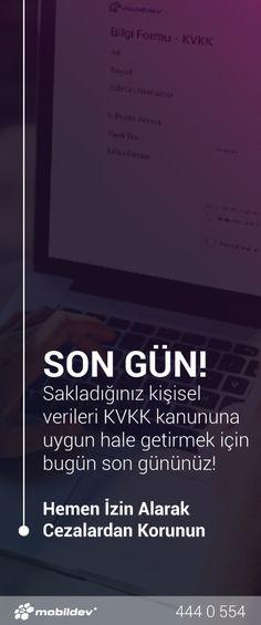 KVKK'ya uyum sağlamanız için BUGÜN SON GÜN! İzinlerinizi dijital platformlar üzerinden yasalara uygun olarak toplayın, olası cezaların önüne geçin.