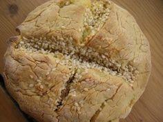 Gluten Free Squash Bread -- sugar free, dairy free, egg free too. Just 5 ingredients -- I like that! Egg And Bread Recipes, Wheat Free Recipes, Sugar Free Recipes, Yummy Recipes, Gluten Free Scones, Gluten Free Flour, Gluten Free Baking, Dairy Free, Grain Free