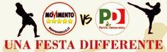 Una festa che ha come obiettivo attirare i giovani disinnamorati della politica: per questo a Bovolone, in provincia di Verona, M5S e PD   http://tuttacronaca.wordpress.com/2013/08/27/metti-m5s-e-pd-assieme-ma-solo-per-una-festa/