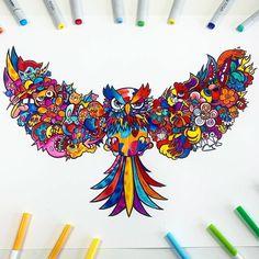 Cute Doodle Art, Doodle Art Designs, Doodle Art Drawing, Art Drawings, Doodle Characters, Graffiti Characters, Vexx Art, Doddle Art, Graffiti Doodles