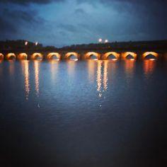Old bridge at high-ish tide