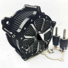 motorcycle Deep Cut Air Cleaner Intake Filter For Harley Electra Glide FLHT FLHT 2008-2016