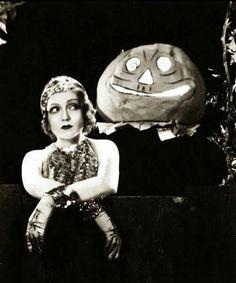 Happy Halloween from Nancy Carroll, c.1930s