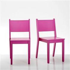Chaise design, (lot de 2) Meeting