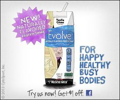 South Suburban Savings: New Coupon: $1/1 Evolve Protein Shake