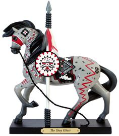 *NEW IN BOX* Trail of the Painted Ponies 4045490 THE GREY GHOST Horse Figurine