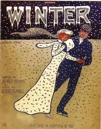 Winter...sheet music