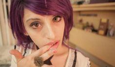 Cherry crush purple puppy