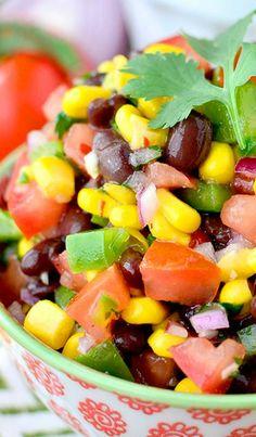 Best-Ever Southwestern Black Bean Dip  www.tablescapesbydesign.com https://www.facebook.com/pages/Tablescapes-By-Design/129811416695