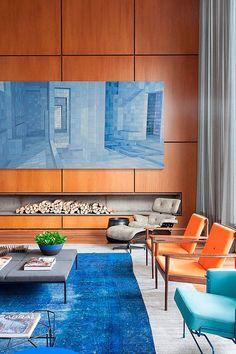 Salón con dos ambientes