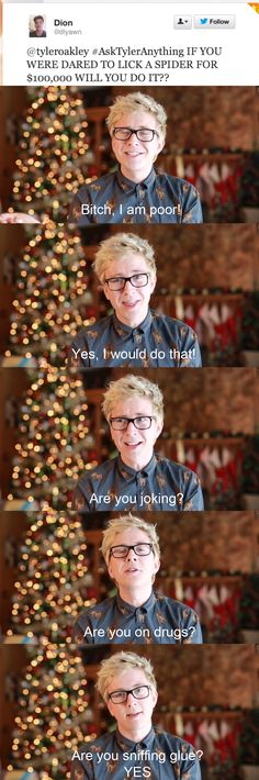 Tyler Oakley | My Message To The Haters (#AskTyler #5)