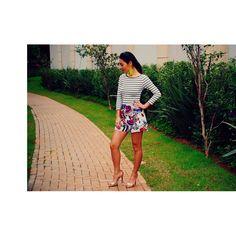 Renata Ferraz l Blog Get Trendy l Mix de estampas l Joao Sebastião l Forever 21 l Espaço Fashion l Zara
