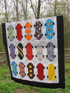 K Design Girls: Skateboard quilt..