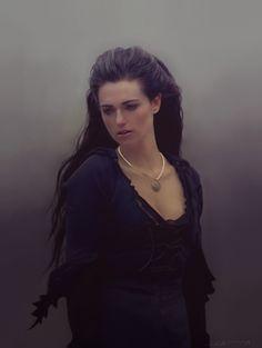 Morgana, drawn in PS