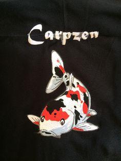 Broderie sur veste pour Carpzen