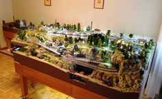 Model Railway Track Plans, Model Train Layouts, Christmas Villages, Model Trains, Hobby, Diorama, Scenery, Gardening, Note