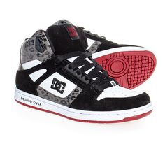 DC Shoes Rebound High SE Boots (Black/White)