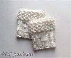 Image result for Free Boot Cuff Knit Pattern