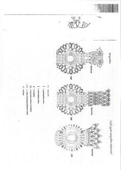 Archiwum albumów Crochet Christmas Ornaments, Christmas Crochet Patterns, Crochet Snowflakes, Christmas Angels, Christmas Decorations, Crochet Angels, Crochet Art, Filet Crochet, Crochet Stitches