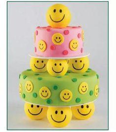 Smily cake