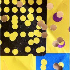Colour studies. Hole-punched. #design #colour #pattern #stickers