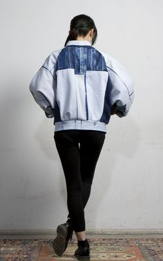 Artic Bomber Jacket Light Blue | Fade Out Label | NOT JUST A LABEL