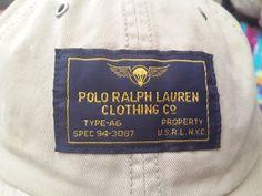 Vintage USRL Type A-6 Polo Ralph Lauren cap hat by CheAmeVintage 5d8c461c4d60